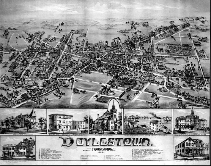 Doylestown 1886